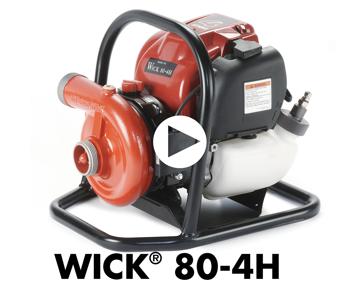 Portable Fire Pump Wick 80-4H